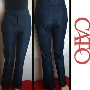 Cato High Waist Tapered Trousers